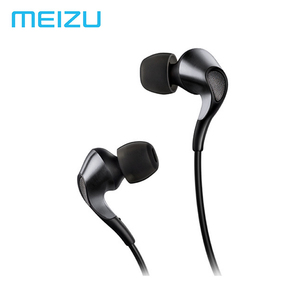 Image 1 - Russia Stock Meizu Flow Earphones In Ear Headset 3.5mm Earbuds Triple Driver Hybrid Dynamic with Microphone For Meizu Pro7 Phone