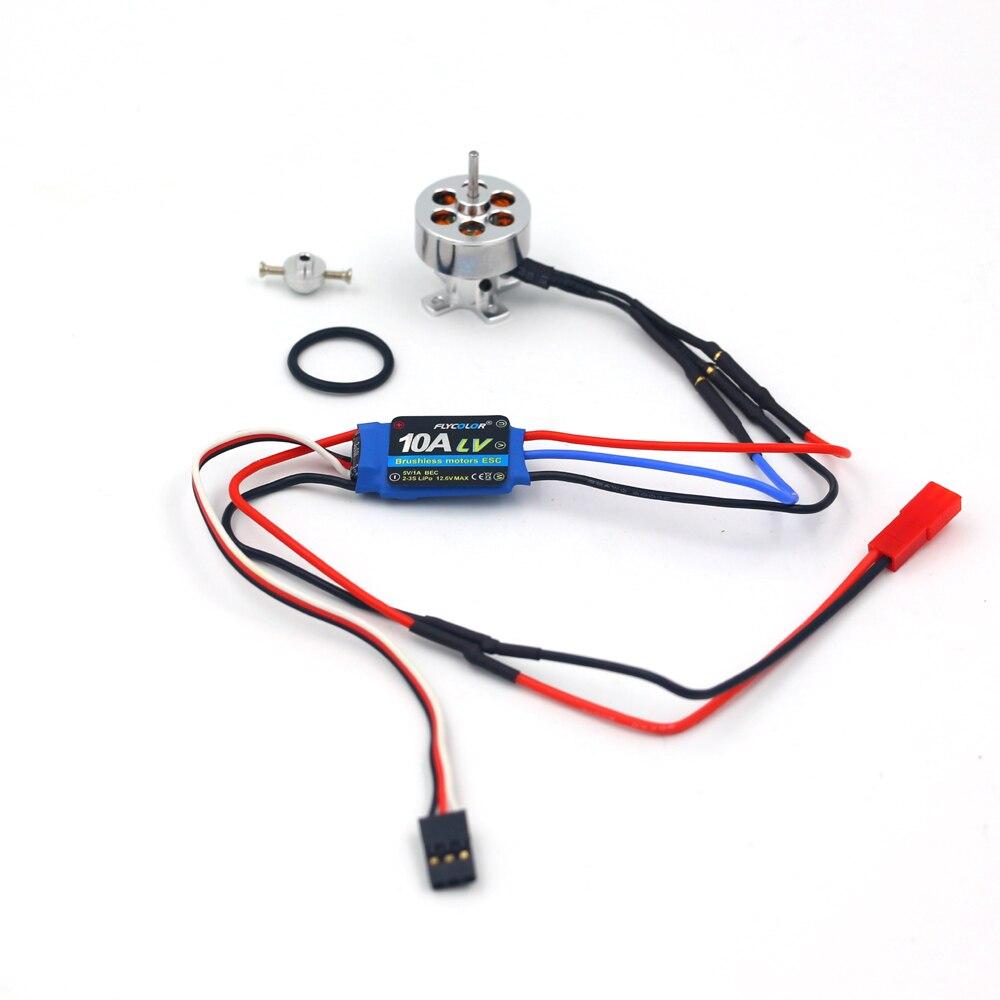 FATJAY RC hobby sistema power combo motor y ESC 16 GRAMPS brushless outrunner 2211 1100KV 1300KV 1700KV 2300KV 3000KV 10A ESC
