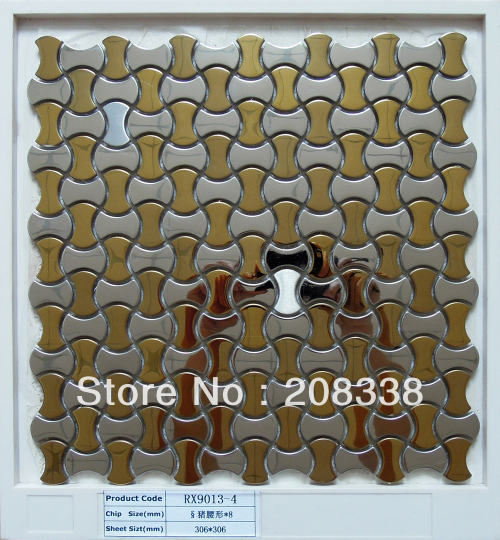 Online Buy Wholesale steel mosaic tiles from China steel mosaic ...
