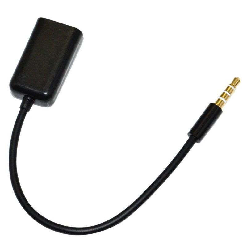 3.5mm Stereo Splitter Audio Male to Earphone Headset + Microphone Adapter Cable A97