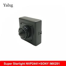 Super Starlight Low illuminatio 0.001Lux 1080P AHD Mini CCTV 2441+SONY imx291 Camera Home Security Video Surveillance