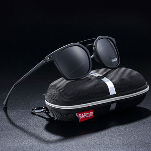 Image 2 - Barcur 高級ブランド TR90 フレームサングラス男性のためのサングラスレディーススポーツ眼鏡
