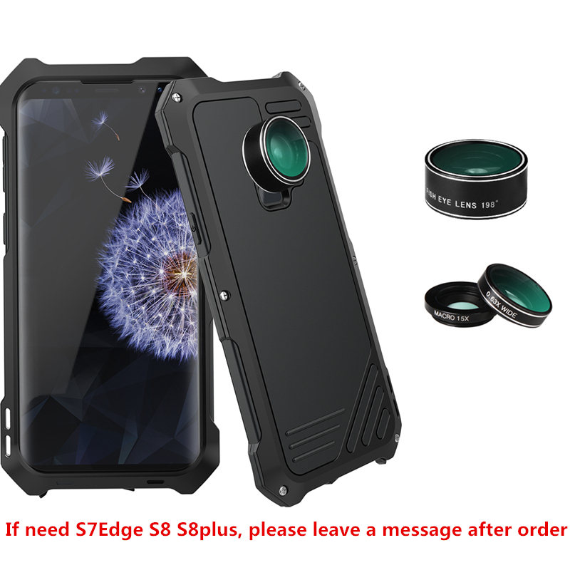 Photographer <font><b>Phone</b></font> Case For Samsung Galaxy S9 S9plus Lover Travel Accessories Fish Eye Wide Angle <font><b>Macro</b></font> <font><b>Lens</b></font> Case For s9 s9Plus