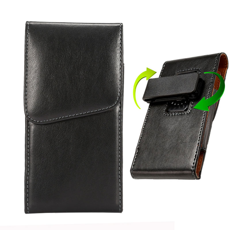 Για Samsung Galaxy S8 Belt Clip Holster Luxury PU Leather Phone Pouch Bag Case for Samsung Galaxy S8 Plus Cover Κρυφή πόρπη