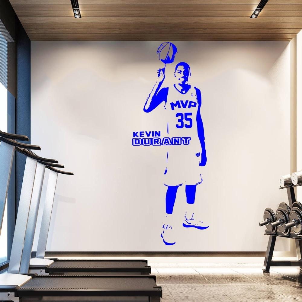 Yoyoyu Removable Wallpaper Basketball