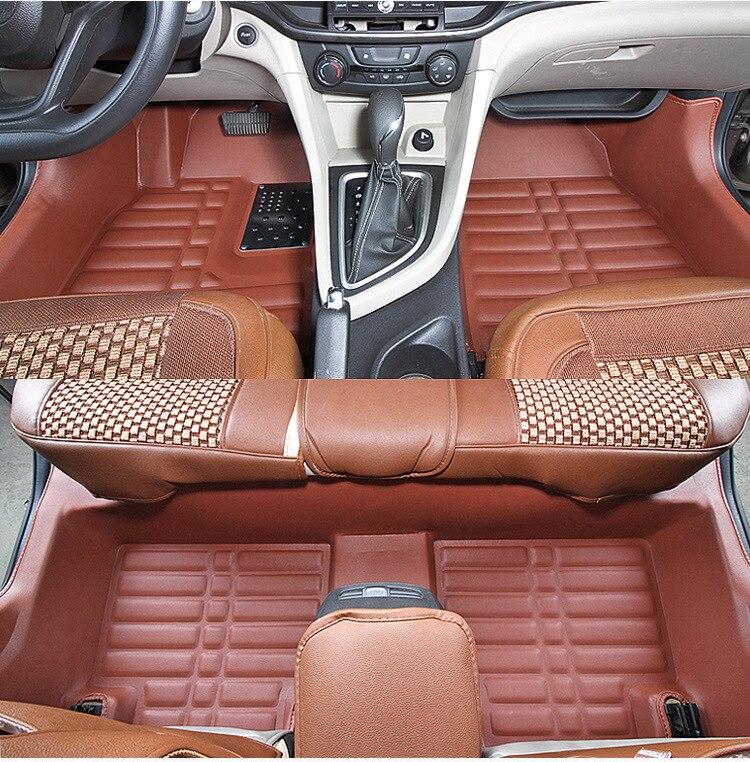 Myfmat пользовательские ног кожаные автомобильные коврики для VW Гран Lavida Cross Lavida phideon teramont EOS Бесплатная доставка Новый стиль комфорт
