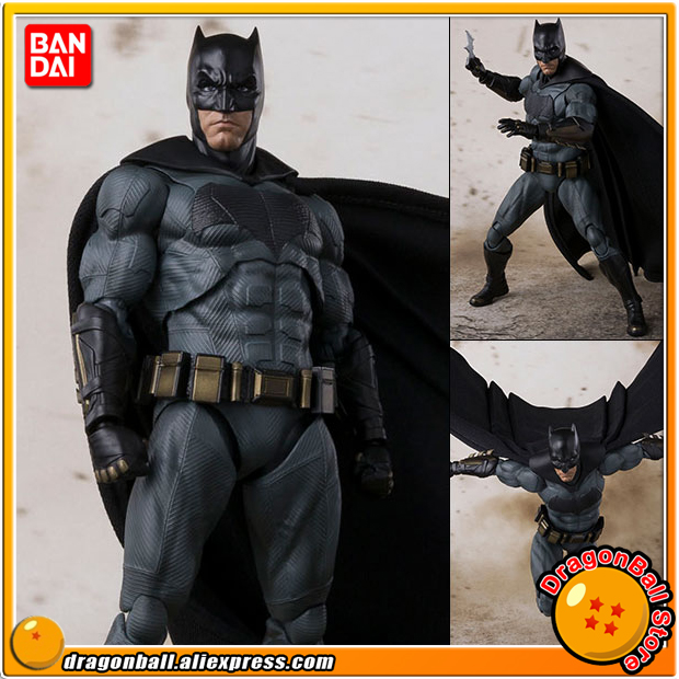 Anime Justice League Original BANDAI Tamashii Nations S.H. Figuarts / SHF Action Figure - Batman 100% original bandai tamashii nations s h figuarts shf action figure spider man homecoming