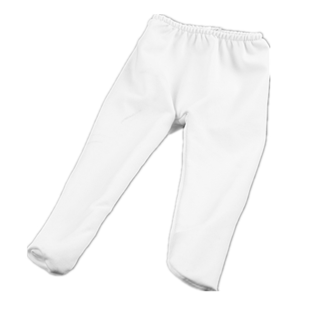 Doll accessories, beautiful white Leggings for 18 inch American girl doll, is to give children the best Christmas gift! b860