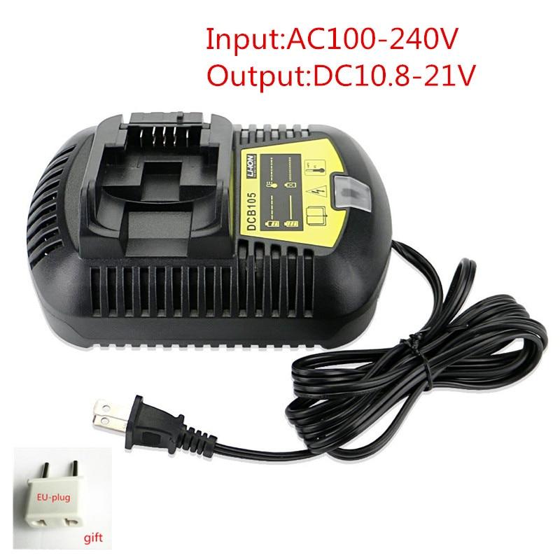 Charger DCB105 for Dewalt DCB105 10.8V 12V 14.4V 20V Li-ion Battery DCB107 DCB101 DCB115 DCB203/DCB200/DCB201/DCB204/DCB180 laptop battery for asus x552 x552cl x552e x552ea x552ep x552l x552ld x552vl x552la 15v 2950mah 44wh li ion oem