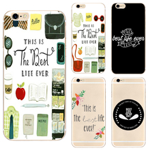 The Best Life Ever Hard Clear Phone Case Cover For Samsung s8 s9plus S6 S7Edge S5 for iPhone 7 6s 8plus 5s 5c 4 X XS XR XSMAX customized diy phone case printed hard clear cover case for apple iphone x xs 8 8plus 7 6splus se 5 for samsung s8 s8plus s7 s6