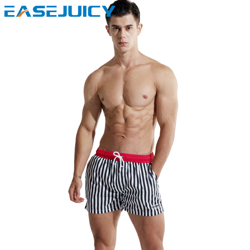 Board     shorts   Men's bathing suit swimsuit surfboard joggers hawaiian bermudas quick dry briefs beach   shorts   briefs mesh