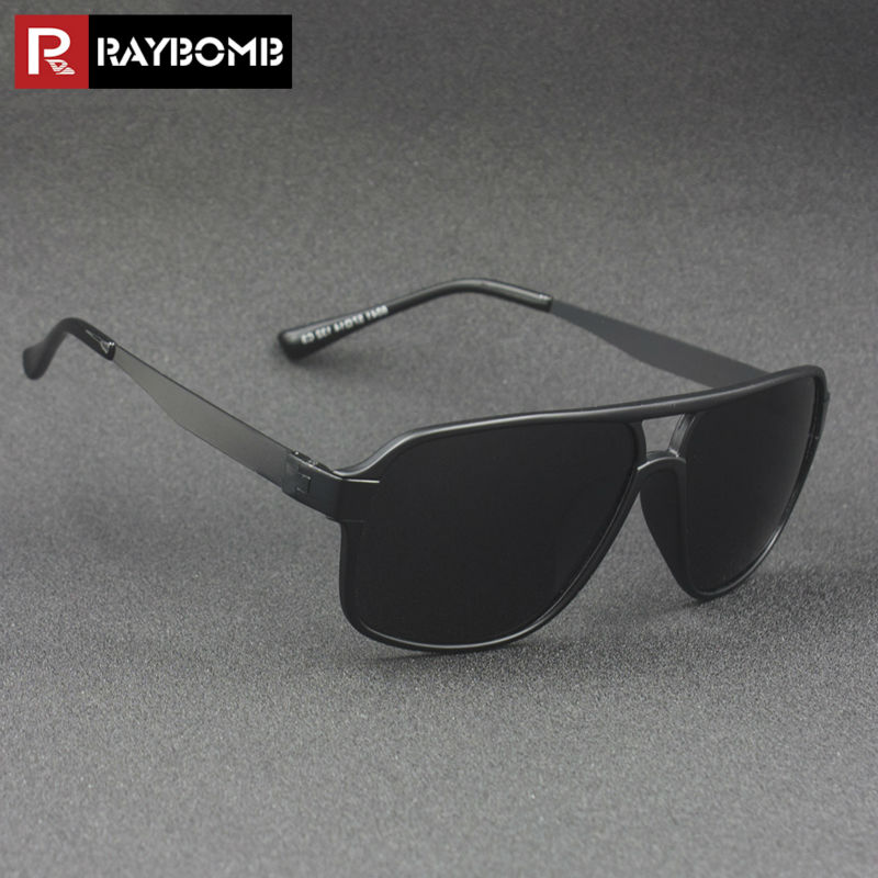 RAYBOMB Polarized Men s Driving Glasses Fashion font b Pilot b font font b Sunglasses b
