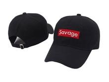9649ae0e3fa4ab VORON Savage Baseball Cap Dad Hat Snapback Men Women Cotton Bone Hip Hop Sun