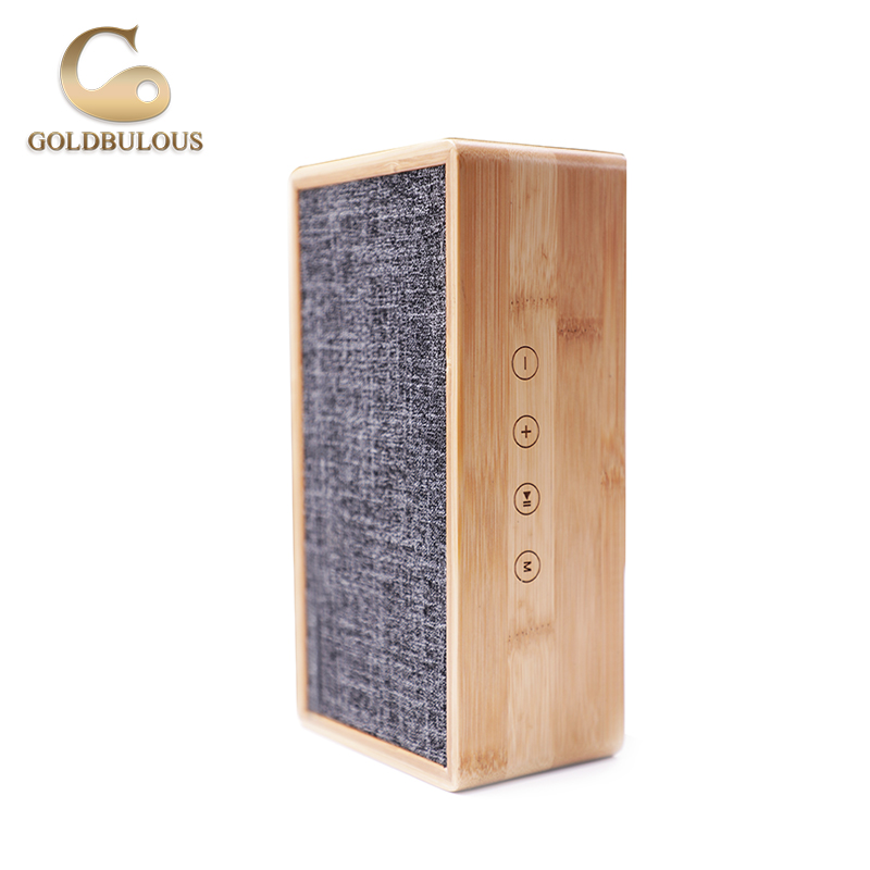 все цены на Goldbulous Portable Wireless Bluetooth Speaker 20W HiFi Bass PA Speakers High Quality Home Theater Music Player Support TF AUX онлайн
