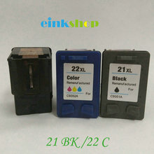 цены Einkshop Compatible for HP 21 22  21XL 22XL ink cartridge For hp Deskjet 3915 1530 1320 1455 F2100 F2180 F4100 F4180 Printer