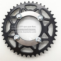420 Chain Rear Sprocket 41 Tooth 76mm Centre Hole For Dirt Pit Bike Off Road Motorcycle