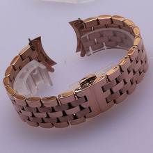 18mm 20mm 22mm 24mm Stainless Steel Watchband Strap Bracelet replace curved or flat interface end fit