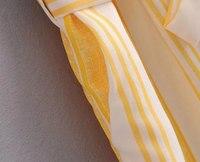 Хи Гранд/улицы широкие комбинезоны для для женщин 2018 г. летние пикантные ремень высокая талия полосатый комбинезон пят штаны с карманами