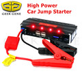 Geek Gene Portable 12V Gasoline Diesel Car Jump Starter High Power 600A Peak Car-Charger Top 4USB Power Bank SOS Light Free Ship