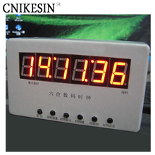 CNIKESIN DIY Six single-chip digital tube LED clock electronic DIY making bulk electronic digital clock diy electronice kit
