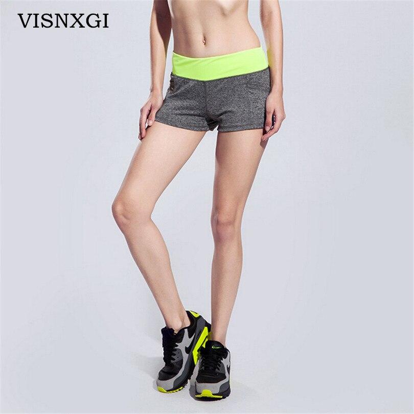 2018 Frauen Mode Shorts Sommer Frauen Shorts Gedruckt Quick Dry Deportes Corriendo Aptitud Neue Weibliche Kleidung Kurze Hose D043