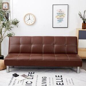 Image 2 - Cubierta plegable de sofá cama de hoja nórdica de Parkshin sin reposabrazos housse de canap covers sofá