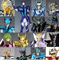 Mimir Alkaid Syd Bud Hyoga Cygnus Phoenix Ikki black Shun TV V1 Saint Seiya Cloth Myth metal armor speeding CS Aurora model