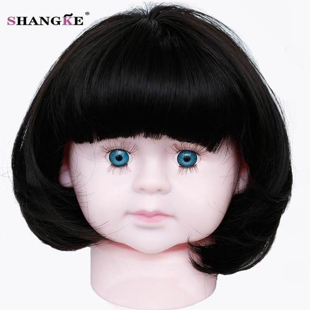 SHANGKE Short Baby Hair Wig Bob Hair Wigs For Children Heat ...