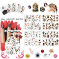 BeautyNailArt     90PCS/lot  BOP Various Nail Art  Stickers False Nail Design Manicure Decals Nail Water  Decal/Tattoo/Sticker
