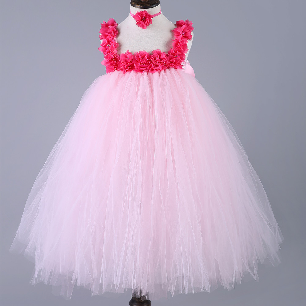 Dorable White Tutu Flower Girl Dress Collection - Top Wedding Gowns ...