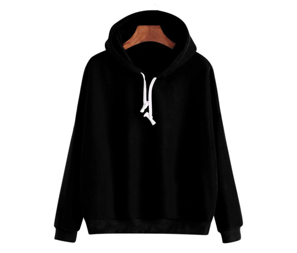 Men s Women s Plain Hooded Sweatshirt Hooded Casual Solid Color Sport Pullover Hoodie S XXL