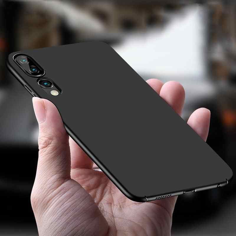 Luxury Ultra Slim Phone Case For Huawei P20 Lite P20Pro Full Protective Hard PC Plastic Cover For Huawei P30 Pro Mate 20 10 Case
