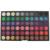 Mais novo Leopard Embalado Cosméticos Eyeshadow Lip Gloss Set Maquiagem Profissional 252 Cor Da Sombra Make Up Kit Palette