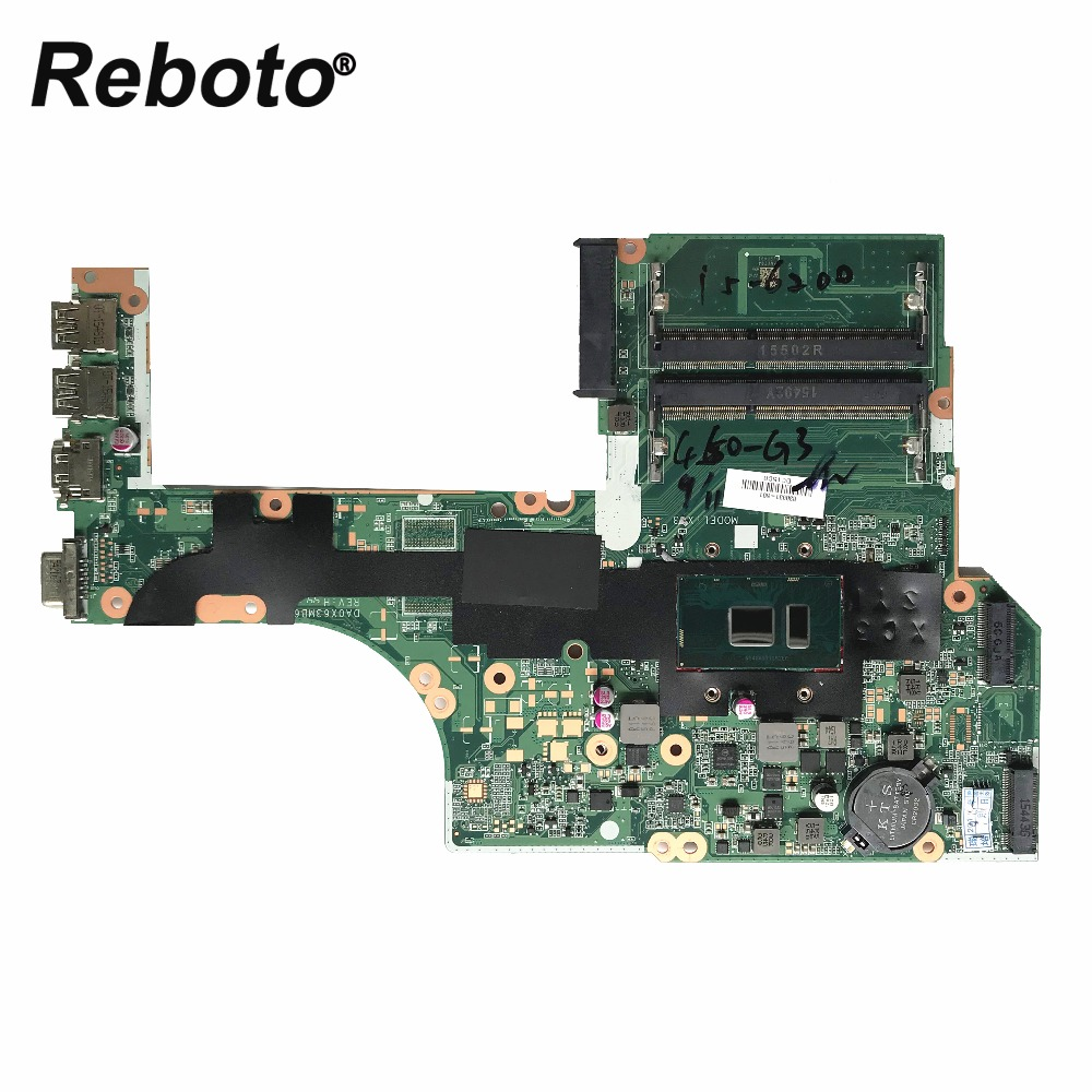 Laptop Motherboard Laptop Zubehör Reboto Für Hp Probook 450 G3 Laptop Motherboard 830931-501 830931-001 Mit Sr2ey I5-6200u Da0x63mb6h1 100% Getestet Schnelle Schiff PüNktliches Timing