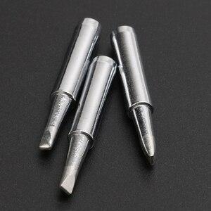 Image 4 - 5 Pz Ferro Tsui M T 3.2D Solder Tips Ferro t12 Sostituzione 3mm Scalpello Larghezza