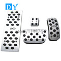 Modified styling No Drill Plate Foot Rest Pedals Gas Fuel Brake Pedal Automatic For  Lexus RX270 RX350 LX430 IS250 Replacement