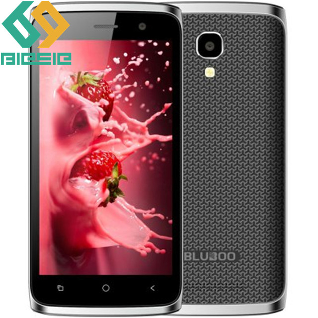 BLUBOO Mini 4.5 inch Android 6.0 3G WCDMA Smartphone RAM 1GB ROM 8GB MTK6580M Quad Core 1.3GHz with FM Mobile Phone