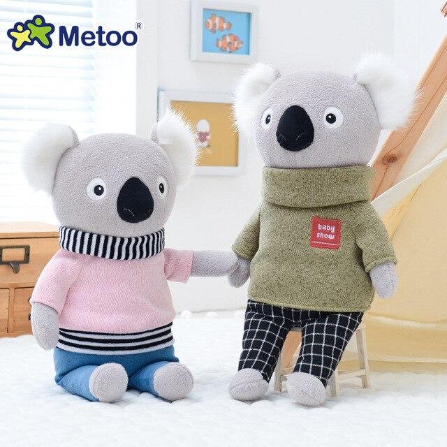 КМягкая плюшевая кукла Metoo коала, панда