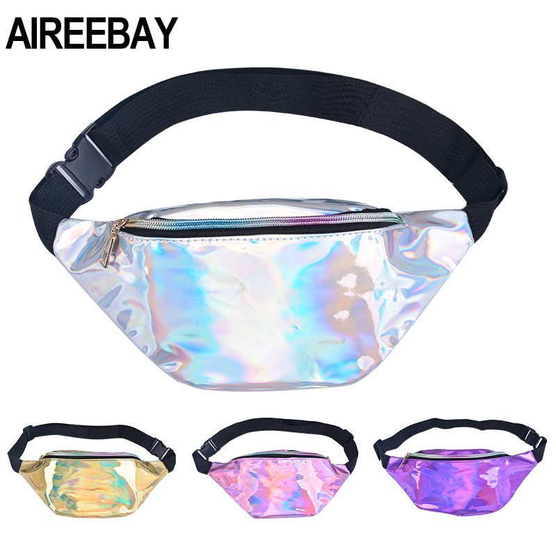 AIREEBAY Women's Waist Bag Belt Waterproof New Designer Waist Pack Shoulder Fanny Pack Smartphone Chest Bag Small Travel Pouch