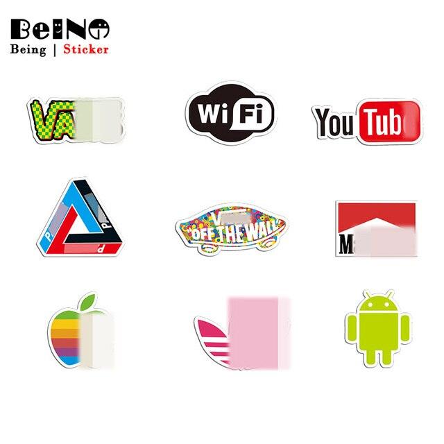 Thương hiệu Logo Youtube Sticker Wifi Sticker Va Li Không Thấm Nước Máy Tính Xách Tay Đàn Guitar Hành Lý Skateboard Xe Đạp Đồ Chơi Đáng Yêu Vui Dán