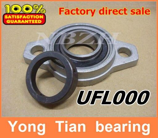 10 mm caliber zinc alloy rhombus bearing housing UFL000 Spherical ball bearing