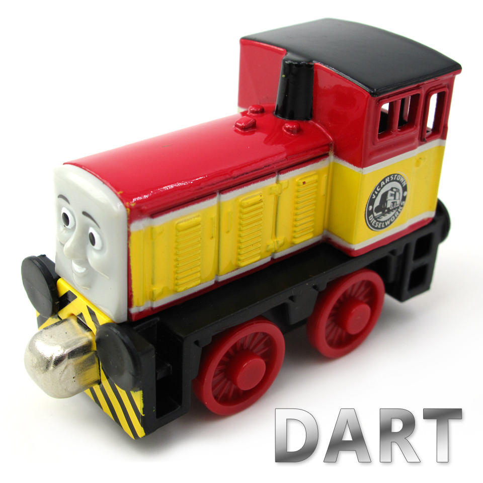 Diecasts Vehicles Thomas T034D DART Thomas And Friends Magnetic Tomas Truck Car Locomotive Engine Railway Train Toys for Boys