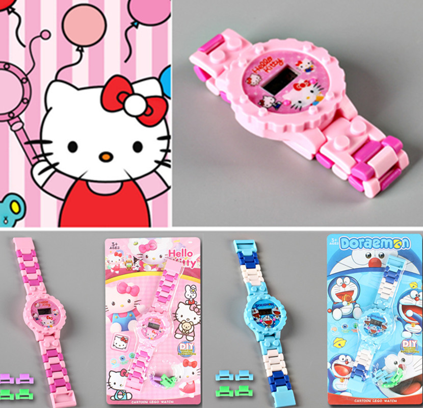 hello kitty kids watch children watches girls boys clock quartz child wristwatches Cartoon Batman electronic watch for baby gift hello kitty led kids watch cartoon watch children s watches for girls jelly silicone clock cute watch baby montre enfant