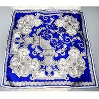 May Design New 100 Silk Twill Scarves Wraps Shawl Hijab Bandana Square Silk Scarf Women 90