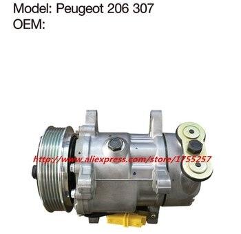 Otomotif ac kompresor untuk Peugeot 307 206 kompresor berkualitas Baik Peugeot 307 206 dikompresi