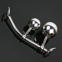 Real Stainless Steel Anal Plug, Metal Butt Plug, Female Chastity Device/Belt,Glossy Vagina Plug Anal Balls, Adult Sex Toys