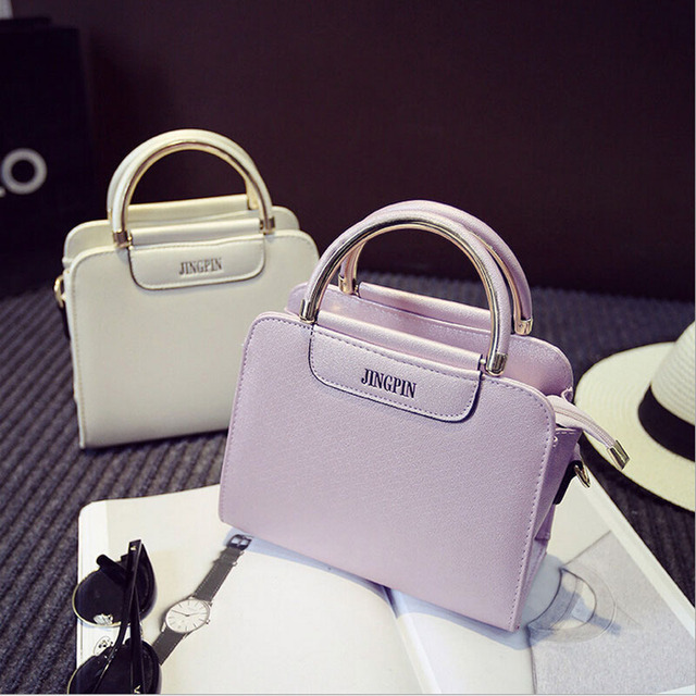 fashion new women shoulder bags 2016 casual PU leather women handbag solid shell bags mini messenger bag candy color,LB2578