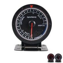 Dynoracing 60 мм гоночный автомобиль воздушный измеритель отношения топлива и освещение авто Воздушный измеритель отношения топлива метр TT101473
