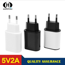 USB Charger Adapter for iPhone Samsung Xiaomi Huawei  EU Plug 5V 2A High Quality Fast