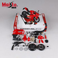 Maisto Ducati 1199 Panigale Edificio Kits DIY 1:12 Modelos Diecast Metal Motocicleta Coche de Aleación de juguetes de Colección de Regalo